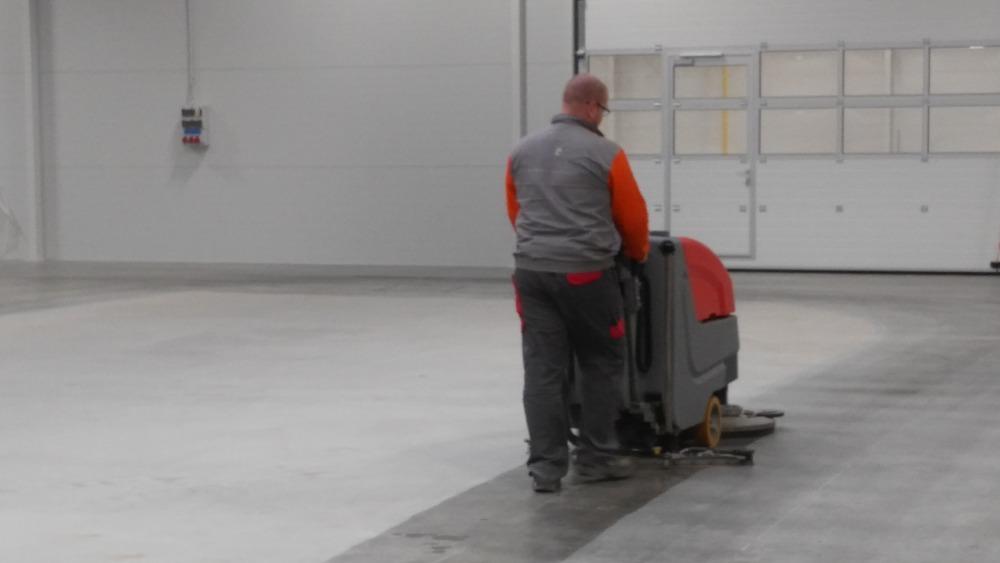 Hloubkové mytí podlah